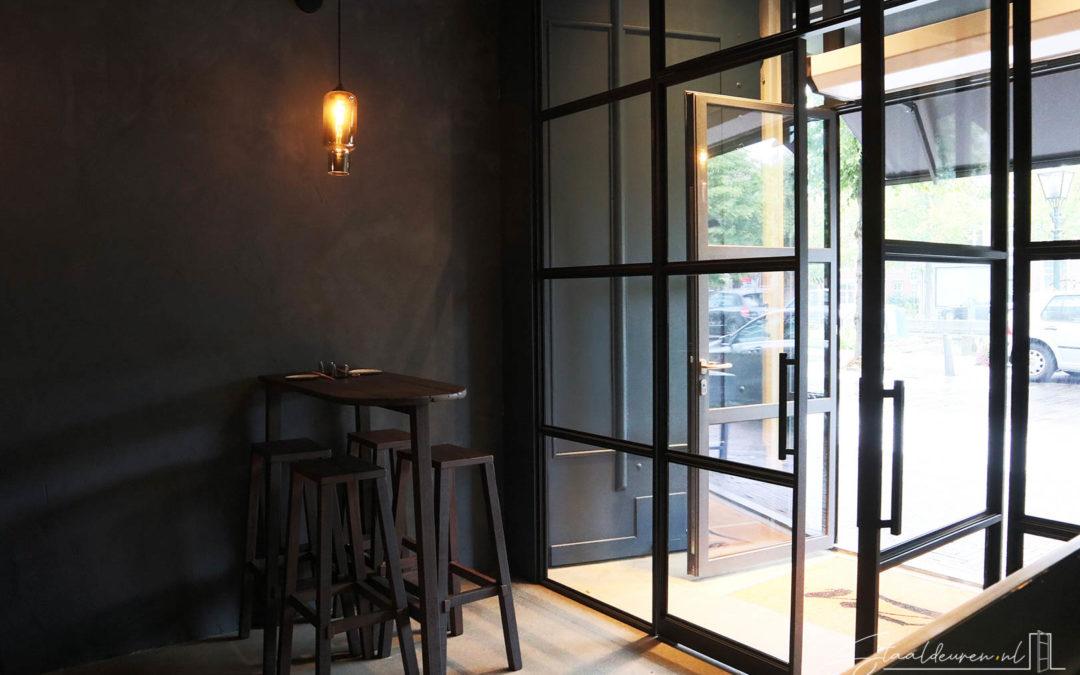 Stalen entree Restaurant Yuzu – Den Haag